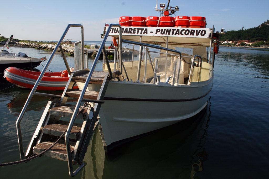 Battello Punta Corvo